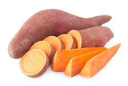 Oranje voeding, lekker de zoete aardappel!