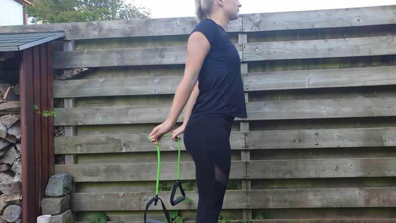 Shoulder Dislocation, thuis trainen met elastiek. Diverse oefeningen.