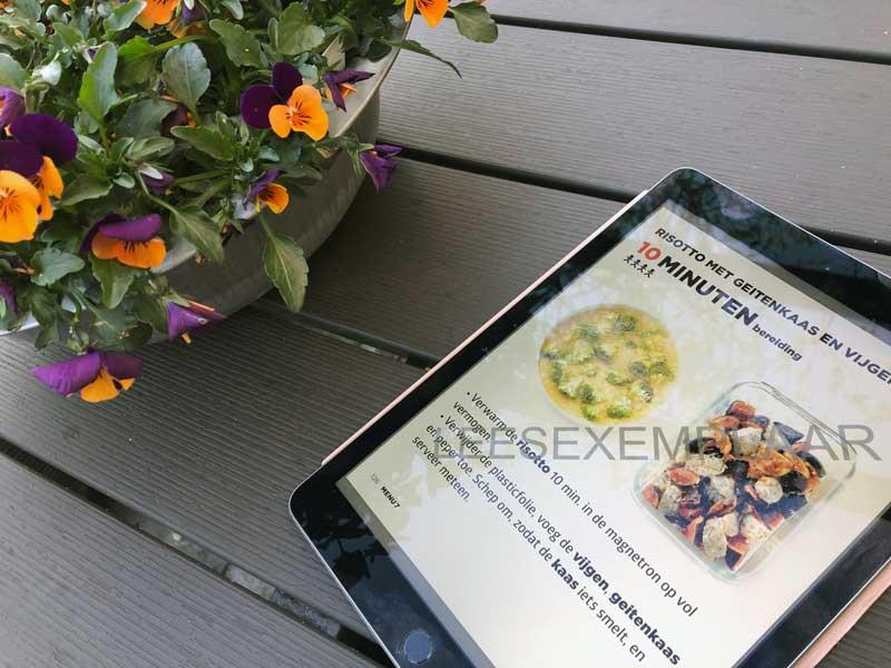 Kookboek met supersnelle recepten