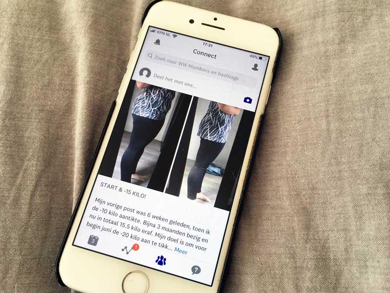 WW app (Weight Watchers) ervaringen van anderen lezen