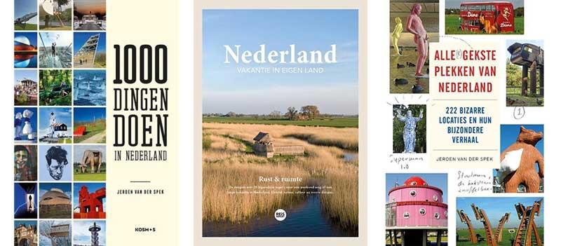 Boeken met uitstapjes in Nederland