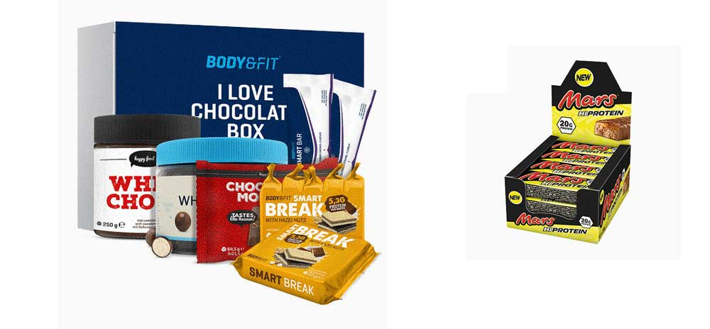 Gezond chocoladepakket, vaderdagcadeau
