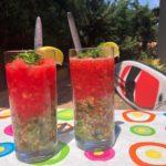 Recept watermeloen gazpacho