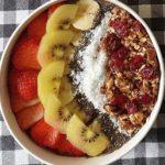 Recept voor een supergezonde smoothiebowl.
