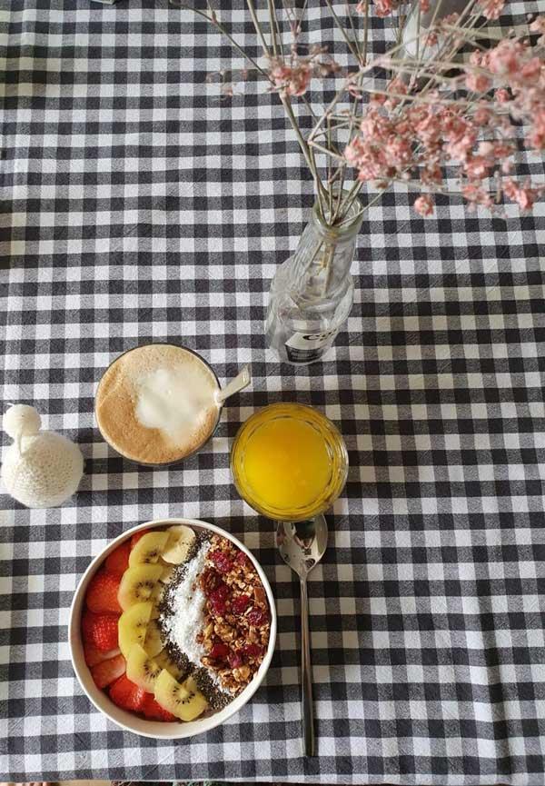 Recept smoothiebowl met mooie topping