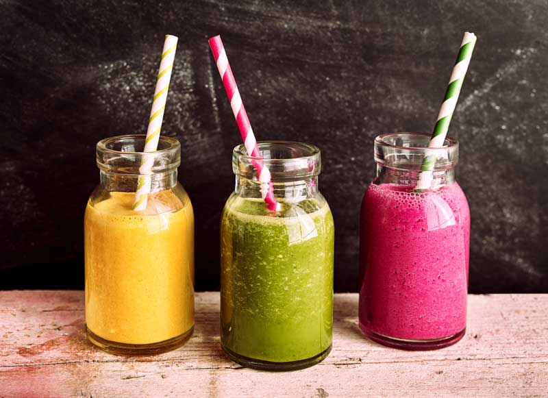 3 eenvoudige gezonde recepten voor smoothies