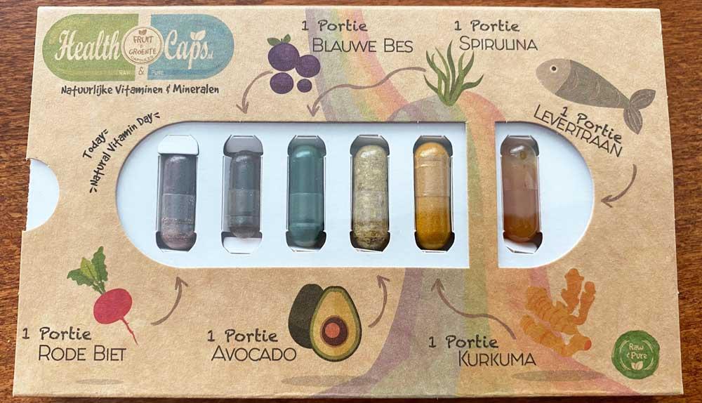 Health Caps Groenten en Fruit