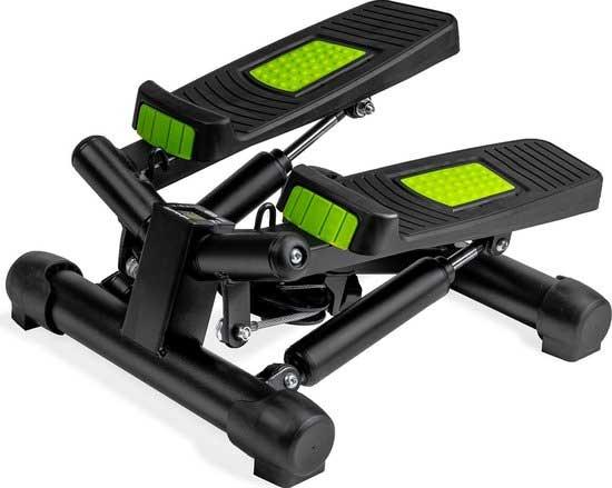 Handige stepper met digitale functie. Betaalbare fitnessapparaten!