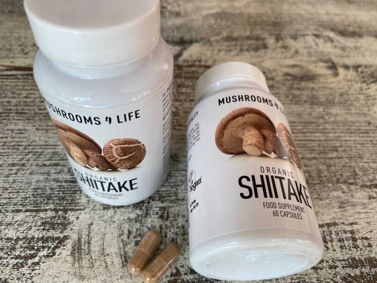 Shiitake supplementen