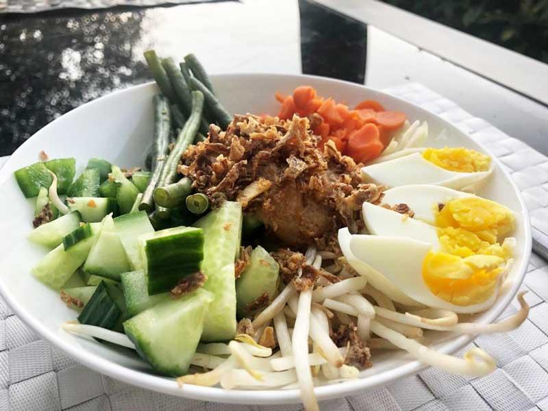 Gado Gado salade, een gezond recept op goed eten gezond leven!