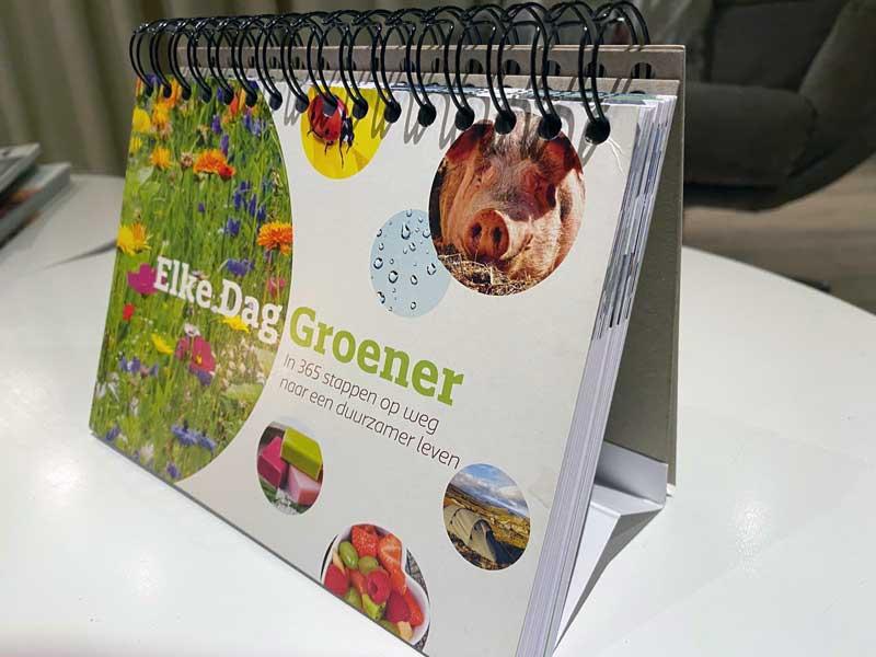 Kalender met 365 duurzame en groene tips