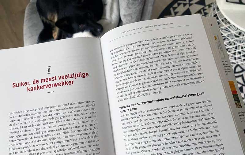 Nieuwste boek William Cortvriendt over suiker en kanker (met leefstijladviezen die helpen tegen kanker))