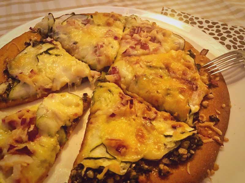 Recept vegetarische Pizza