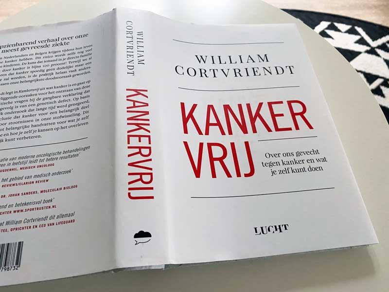 Kankervrij, boek William Cortvriendt