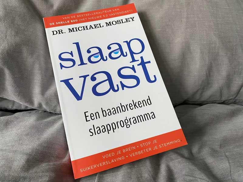 Boek met tips hoe je beter kunt slapen. Goed slapen is een must voor een goede gezondheid!