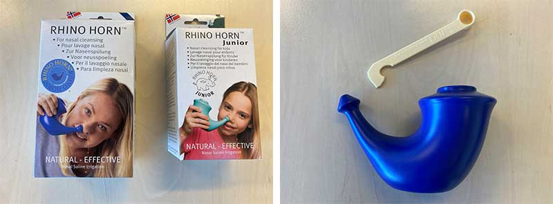 Ervaring neusspoeling van Rhino Horn