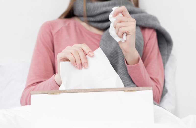 Neusspoeling bij chronische verkoudheid