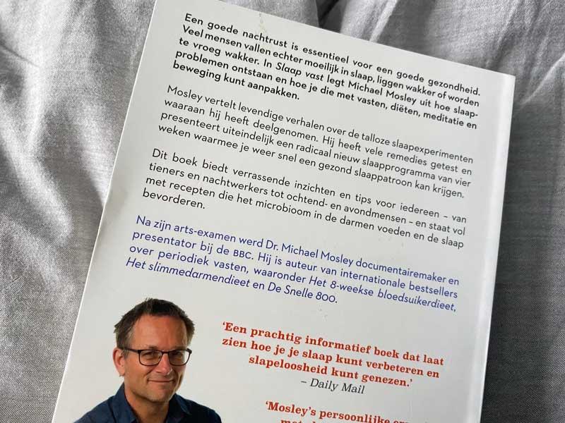 Nieuwste boek van Dr Michael Mosley gaat over goed slapen