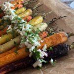 Feestelijke, gekleurde wortelen als lunch of bijgerecht | Gezond recept