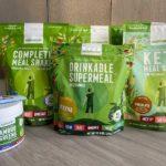 Plantaardige, gezonde maaltijdshakes