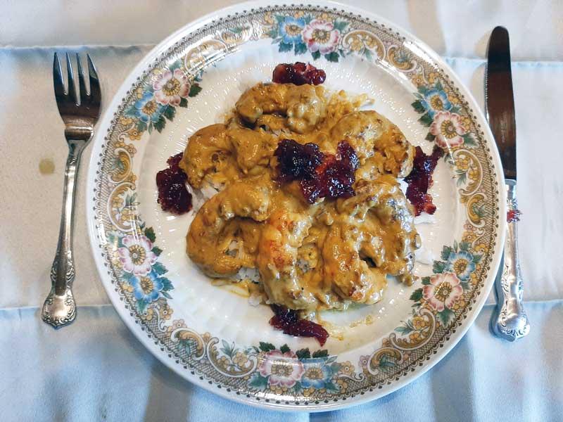 Recept tijgergarnalen curry