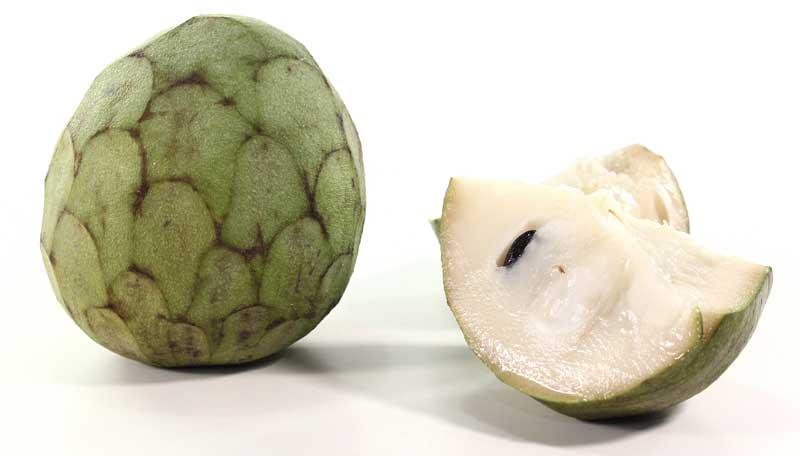 Cherimoya, ook wel suikerappel genoemd