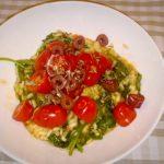 Recept Risotto met Tomaat, Spinazie en Gorgonzola