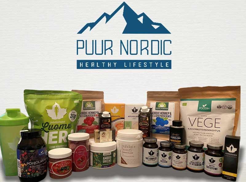 Winactie Puur Nordic, Scandinavisch gezondheidspakket