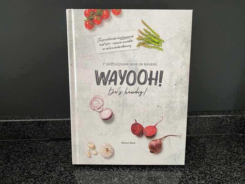Boekreview WAYOOH! nieuwste boek van kok Ramon Beuk