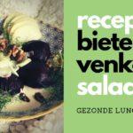 Gezond lunch recept: Bieten-Venkelsalade