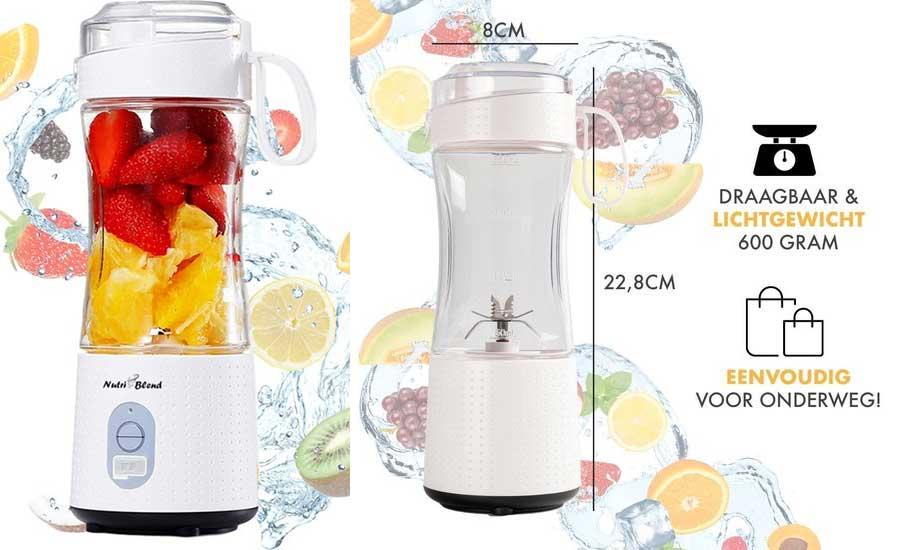 Nutriblend blender/drinkfles