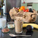 Ontbijtrecept | Chocolade-Kokos Smoothie