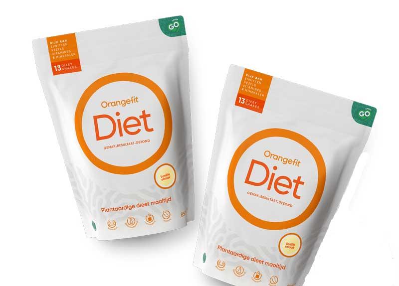 Orangefit diet afvalshakes
