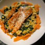 Recept | Risotto met zalm en erwten