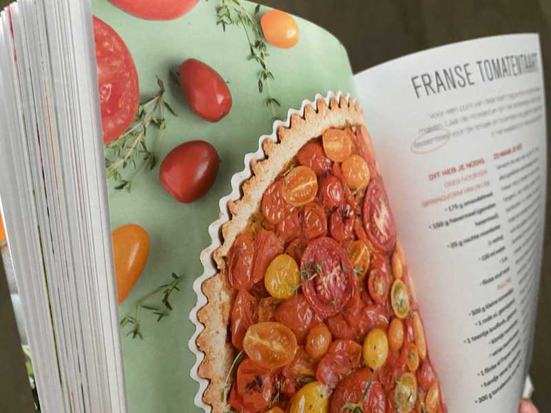 Tomaten zijn goed voor je immuunsysteem, vertelt Marjolein Dubbers in haar nieuwste boek.