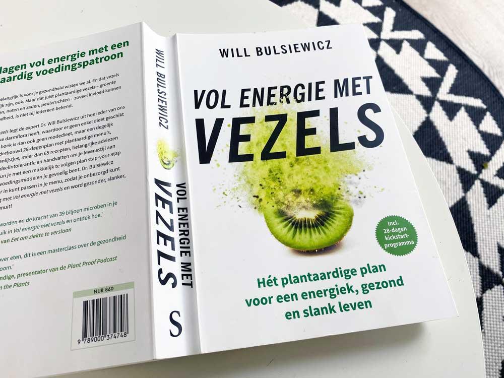 Boek over vezels en onze darmen