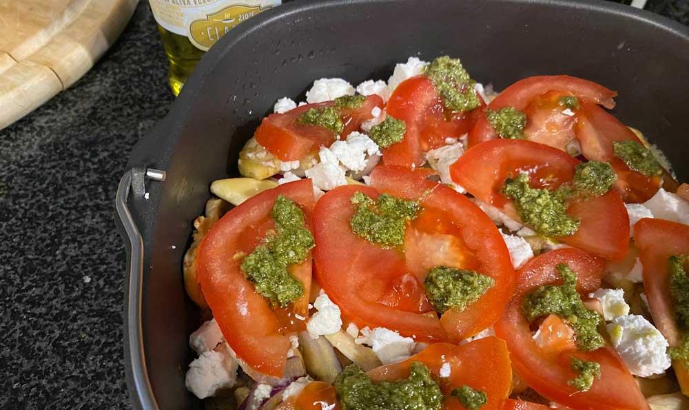 Frittata recept Airfryer
