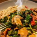 Recept vegetarische stroganoff