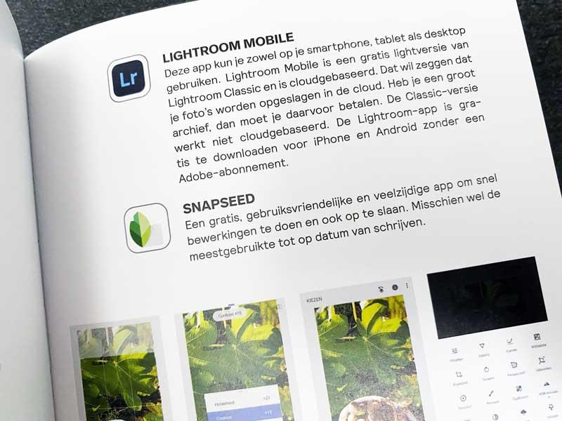 Boek over foodfotografie