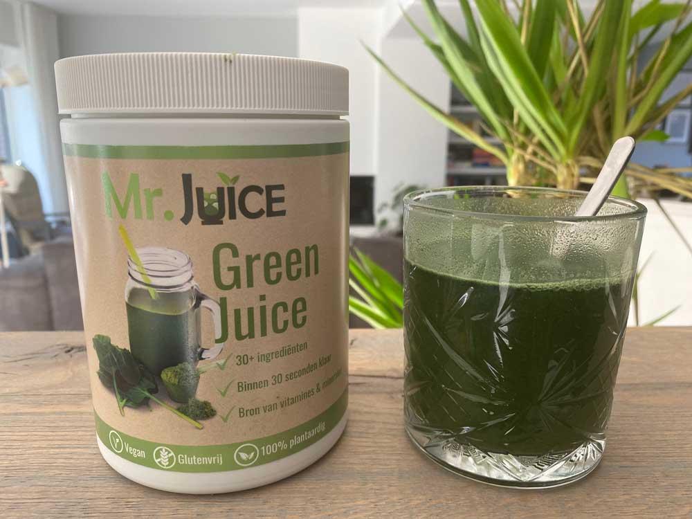 Ervaring green juices van Mr.Juice