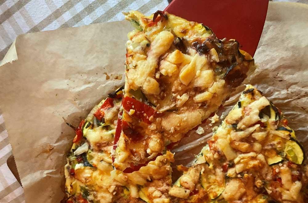 Recept hartige frittata taart