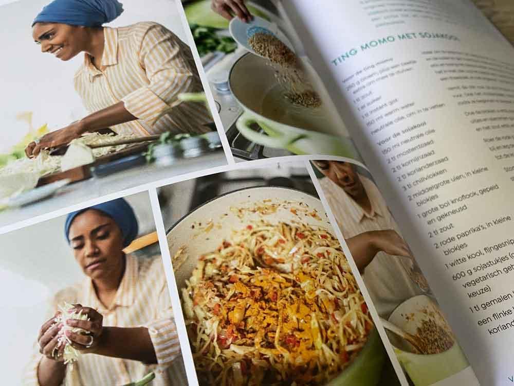 Kookboek Nadiya's Time to Eat van Netflix