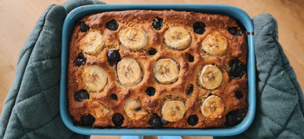 Recept voor vegan bananenbrood zonder ei
