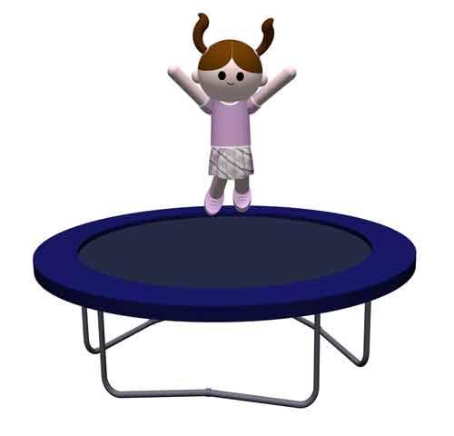 Hoe gezond is trampoline springen?