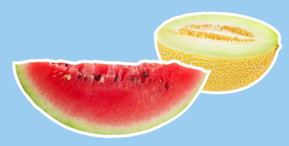 Welke meloen is gezonder, de watermeloen of de galiameloen?