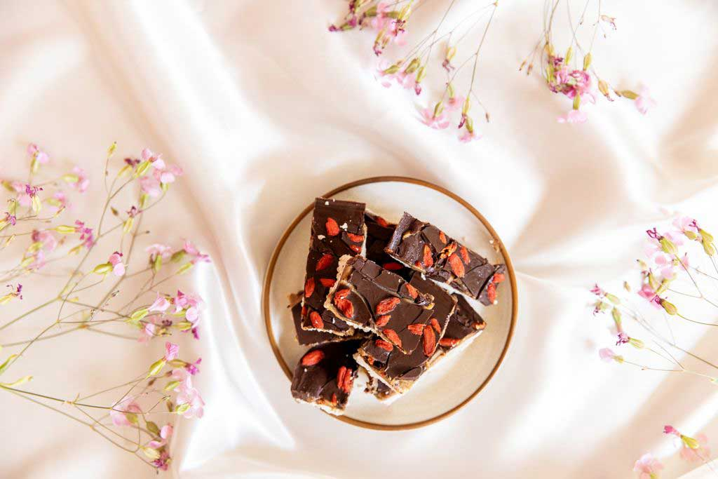 Salted Caramel Choco Coco Slices