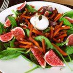 Recept voor een salade met verse vijgen